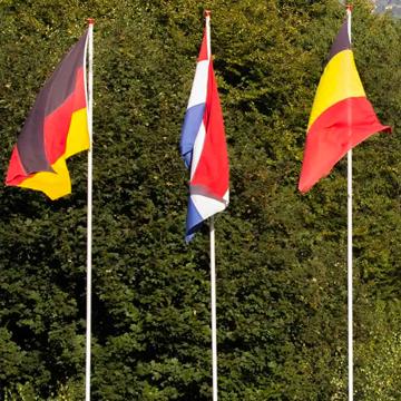Drie vlaggen
