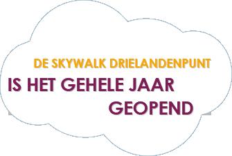 De Skywalk Drielandenpunt - is het gehele jaar geopend