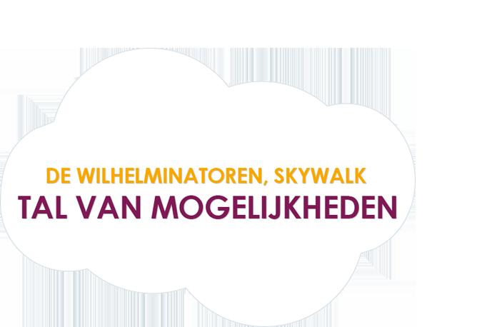 De Wilhelminatoren, Skywalk - tal van mogelijkheden